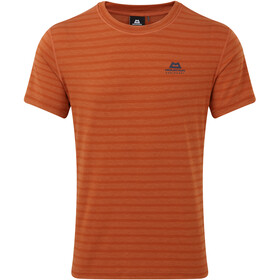 Mountain Equipment Groundup T-shirt Homme, bracken stripe